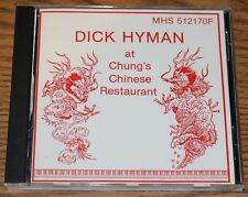 Used CD - DICK HYMAN at Chung's Chinese Restaurant MHS 512170F