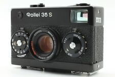 【 Near Mint 】Rollei 35s Black 35mm Film Camera w/ Sonnar 40mm f/2.8  from Japan