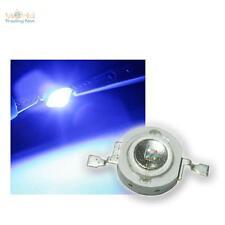 HighPower LED 3w blu, 3 W Blu High Power SMD LED, 3 Watt 700ma BLUE BLEU