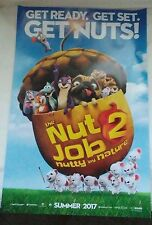 """'The Nut Job 2 Nutty by Nature' (2010) Movie Poster - 11"""" x 17"""" ***NEW***"""