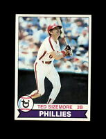 1979 Topps Baseball #297 Ted Sizemore (Phillies) NM-MT