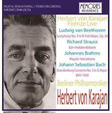 MR2547/2548 Firenze Live (14,15/May/1967) Karajan  / Berliner Philharmoniker