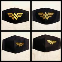Wonder woman Face mask, Wonder Woman Mask, DC Comics mask, Face Mask Reusable