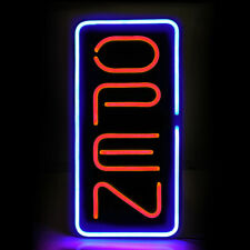 Super Bright Neon Animated Led Business Sign Open Light Pvc Store Display 12x24�