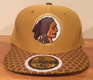 Washington Redskins New Era NFL Youth On Field 59FIFTY Fitted Cap Hat 6 1/2