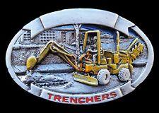 TRUCK TRENCHER CONSTRUCTION EXCAVATOR BELT BUCKLE BOUCLE DE CEINTURE