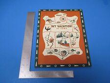 Vintage My Vacation at Camp Book 1949 Kellogg Company, L172