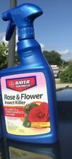 BioAdvanced 708570A Rose & Flower Insect Killer 24oz Kills Insects On Contact