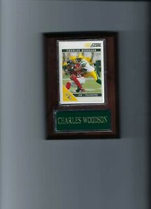 CHARLES WOODSON PLAQUE GREEN BAY PACKERS FOOTBALL NFL   C2