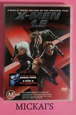 X-MEN 1.5  2-Disc X-Treme Edition with preview sticker for X-MEN 2 - Marvel DVD