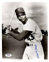Charlie Neal autographed signed 8x10 photo MLB Brooklyn Dodgers PSA COA