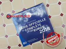 Coffret BU 1 Cent à 2 Euro France 2018 - Coffret Officiel