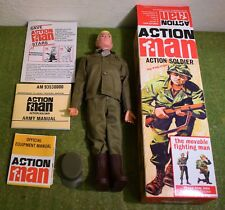 Action Man 40th Boxed Action soldat blonde peint cheveux dur Mains (GI JOE)