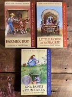 Little House on the Prairie Book Lot of 3 - Laura Ingalls Wilder Color Edition