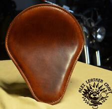 Bobber Solo Sitz Büffel Cognac L Custom Chopper Harley Softail