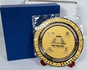 Indianapolis Motor Speedway Metal Collector Plate Pagoda Limited 1st ED 100 RARE