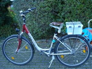 Tourenrad mit Tiefeneinstieg