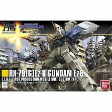 BANDAI HGUC 1/144 RX-79[G]Ez-8 GUNDAM Ez8 Plastic Model Kit The 08th MS Team