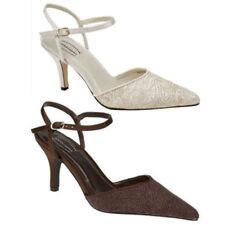 Bridal or Wedding Regular Textured Heels for Women