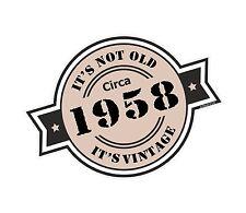 Non è vecchio intorno al 1958 ROSETTA Emblema PER CASCO DA MOTO AUTO ADESIVO VINILE