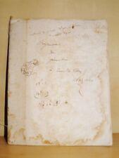 CAMILLE CLERC Manuscrit Cours de Géométrie 1845 POLYTECHNIQUE PONTS & CHAUSSEES