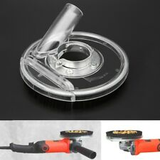 Dust Shroud Kit Dry Grinding Cover Tool For Angle Hand Grinder Clear 80-125mm