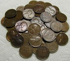 1 Roll Of 1932 D Denver Lincoln Wheat Cents From Penny Collection