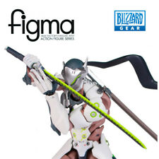 FINGMA • Genji Figma Action Figure # 373 Gengi Overwatch HOTS BLIZZARD NEW RARE