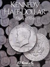 "H.E HARRIS /""2697/"" KENNEDY HALF DOLLAR 1985-1999 FOLDER NEW WITH FREE SHIPPING!"