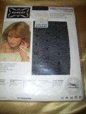VINTAGE Kunert chic & modisch Tupfen Strumpfhose Gr. 38-40 schwarz Collant OVP
