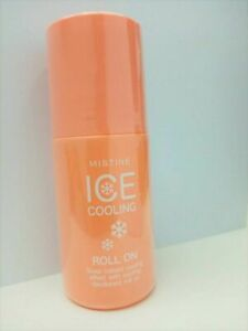 Mistine Ice Cooling Whitening Deodorant Roll On Gives Instant Cooling 50ml.