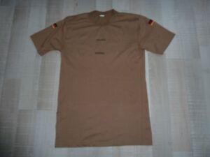 Bundeswehr Shirt coyote original mit Deutschlandfahne Grösse XL