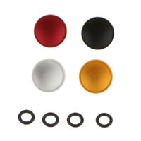 4PC Camera Concave Shutter Release Button Replacement Part for Rolleiflex Camera
