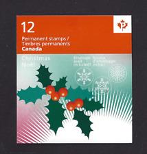 Canada    BK469  # 2491  CHRISTMAS HOLLY    VF-NH    POST OFFICE  2011 FRESH