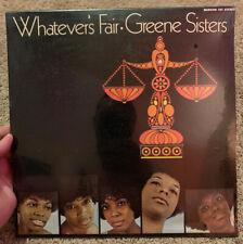 Whatever's Fair Greene Sisters Nashboro Records Factory SEALED Mint! Gospel Funk