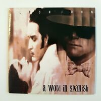 ELTON JOHN : A WORD IN SPANISH ♦ CD Single ♦