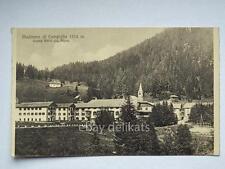 MADONNA DI CAMPIGLIO Hotel Alpes dolomiti alpi Trento vecchia cartolina