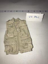 1/6 Very Hot Modern Tan Reporter Fishing Vest - PMC