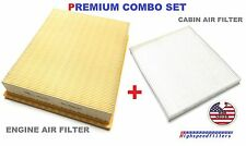 COMBO AIR FILTER & CABIN AIR FILTER SET For 2015 2016 2017 Ford Edge