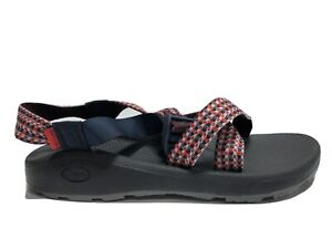 Chaco Men's Zcloud, Strappy Sandals-Red, Size US 12M.