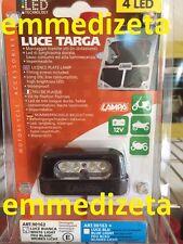 LUCE TARGA 4 LED BIANCO PORTATARGA MOTO SCOOTER - nuovo