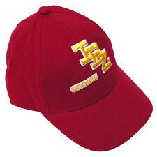 OFFICIAL Amnesia Ibiza Baseball Cap IBZ Logo Dad Hat Burgundy Red RRP £40.00