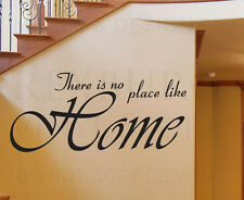 Wall Sticker Decal Quote Vinyl Art Lettering No Place Like Home Love Family F85