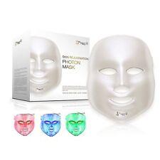 Project E Beauty 3 Color LED Mask Photon Light Skin Rejuvenation Therapy Facial