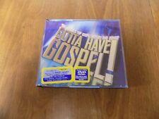 GOTTA HAVE GOSPEL! 28 Songs on 2 CD's + DVD (2003, Integrity) Various Artists