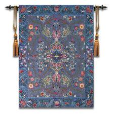 """Belgian Tapestry Modern Home Blanket Bedroom Mural William Morris """"Garden"""" New"""