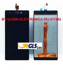 "TOUCH SCREEN VETRO + LCD DISPLAY ASSEMBLATI Wiko Pulp 4G 5,0"" Nero - GLS 24H"