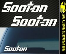 Soot-On Stickers 4x4 Turbo Diesel Patrol Hilux Navara Triton Landcruiser Snapon