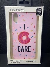 NEW Body Glove Protective Slim Case for iPhone XR - I Donut Care