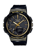 Casio Casual Baby-g for Running Black Ladies Bgs-100gs-1a